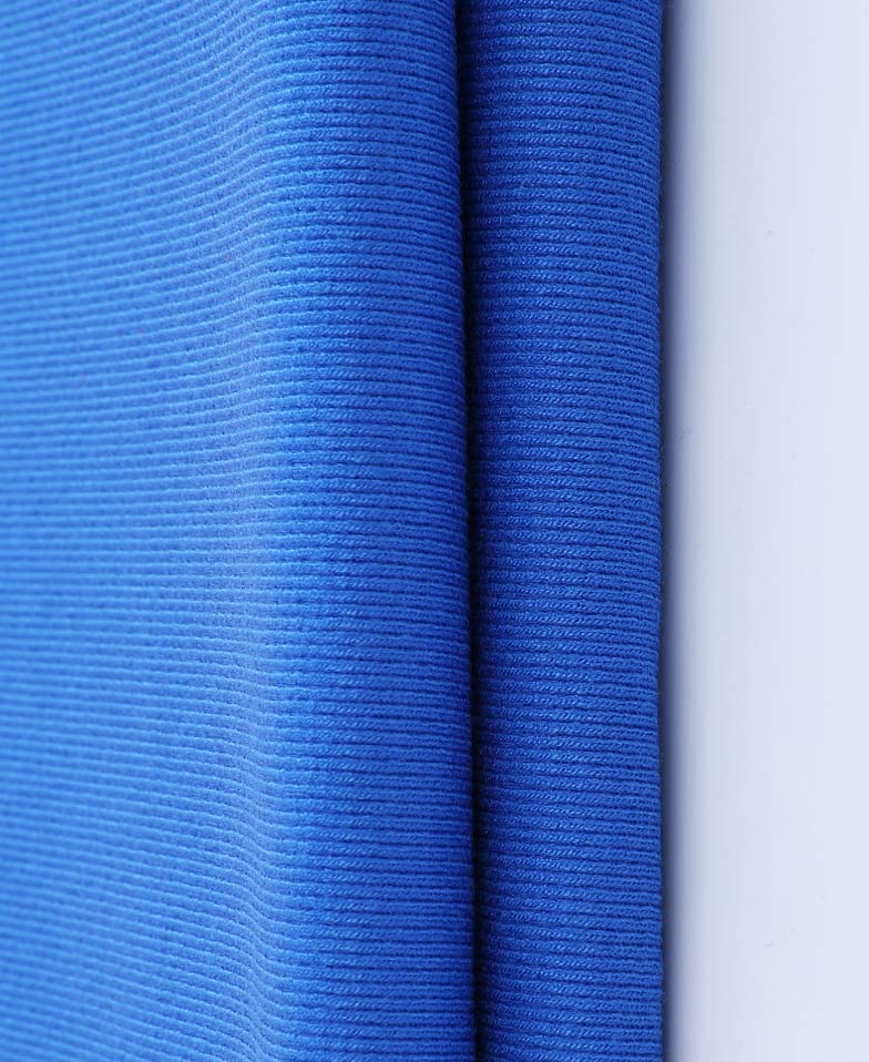 Eco-friendly Breathable Cotton Rib Fabric